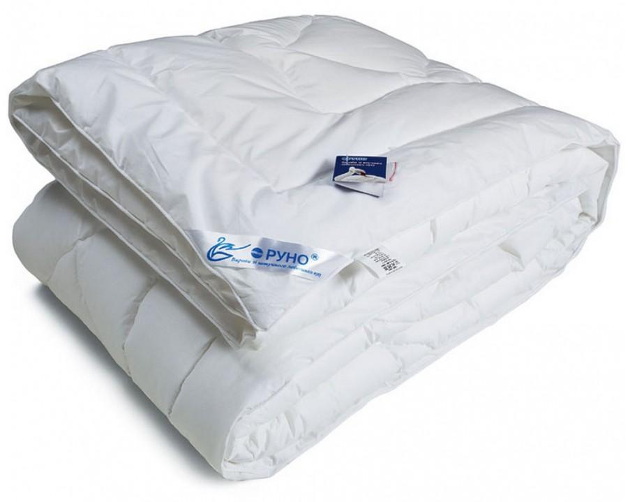 Одеяло зимнее Руно искусственный лебединый пух евро 200х220