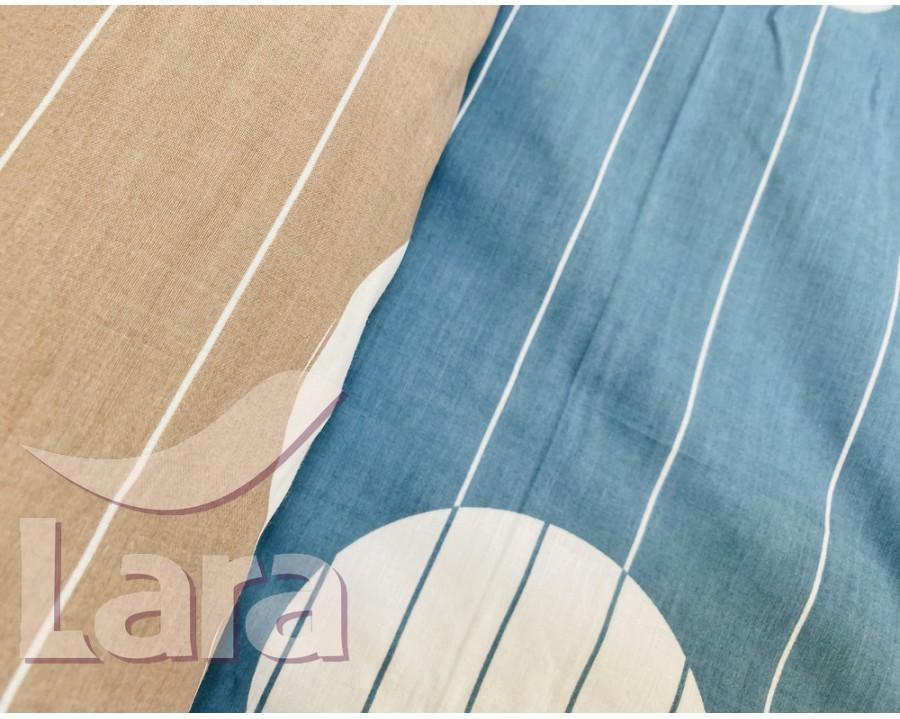 Постельное белье LARA бязь d11171s семейное 4 наволочки в комплекте