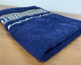 Полотенце махровое 50х90 GM TEXTILE Узбекистан Цезарь 450 г/м2 темно-синее