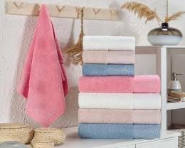 Набор махровых полотенец Zeron 4 штуки Yesim Desen 70х140