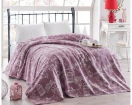 Покрывало вафельное Eponj Home 155x235 Samyeli Lila