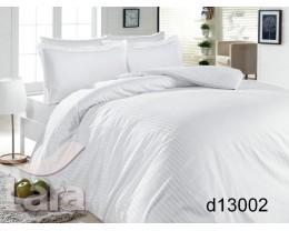 Постельное белье LARA сатин-страйп белое d13002s2 семейное