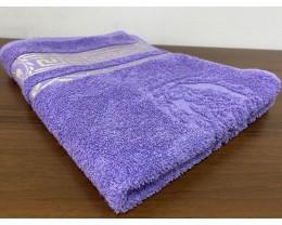 Полотенце махровое 70х140 GM TEXTILE Узбекистан Цезарь 450 г/м2 светло-фиолетовое