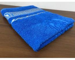 Полотенце махровое 50х90 GM TEXTILE Узбекистан Цезарь 450 г/м2 голубое