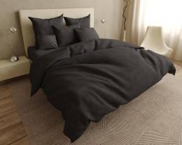Постельное белье LARA бязь-страйп Gray d11223e евро
