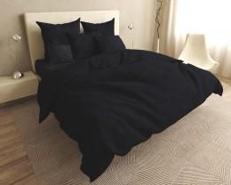 Постельное белье LARA бязь-страйп Dark Gray d11224e евро