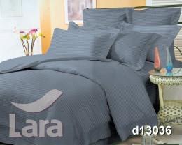 Постельное белье LARA сатин-страйп Graphite d13036s2 семейное