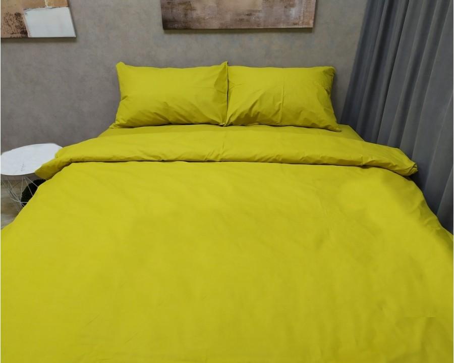 Постельное белье LARA бязь d11192p Yellow полуторное