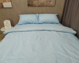 Постельное белье LARA бязь d11182d Blue двуспальное