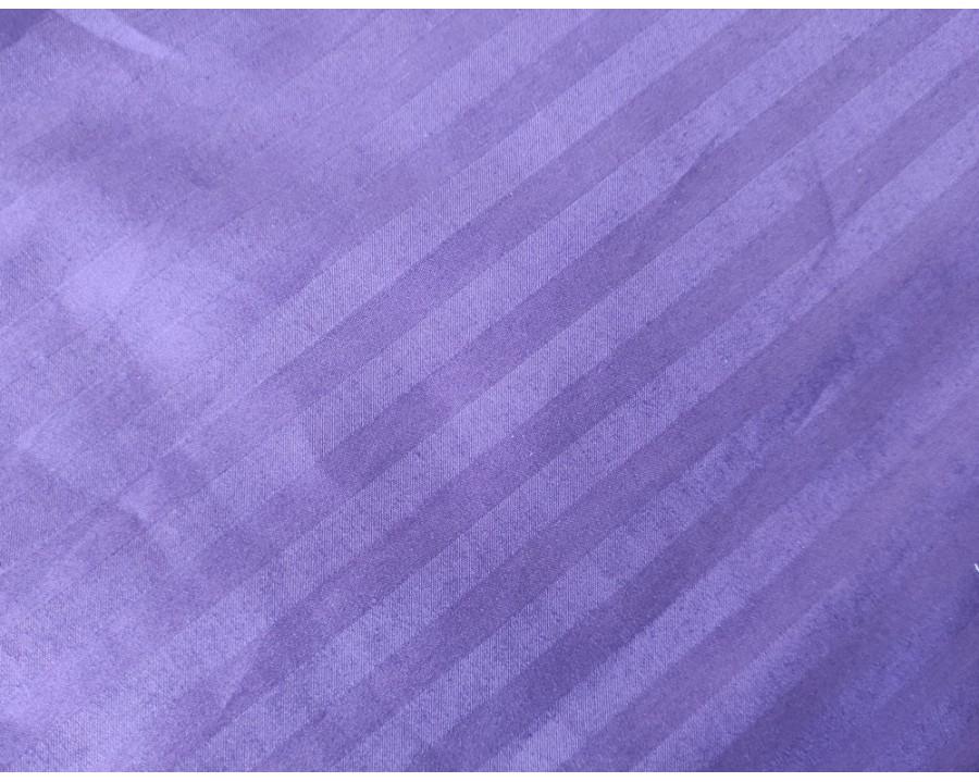 Постельное белье LARA сатин-страйп Blue Berry d13058p2 полуторное