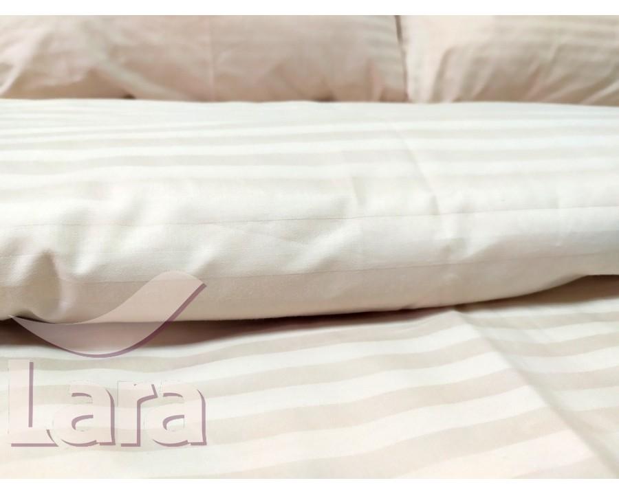 Постельное белье LARA сатин-страйп Pudra d13008e2 евро