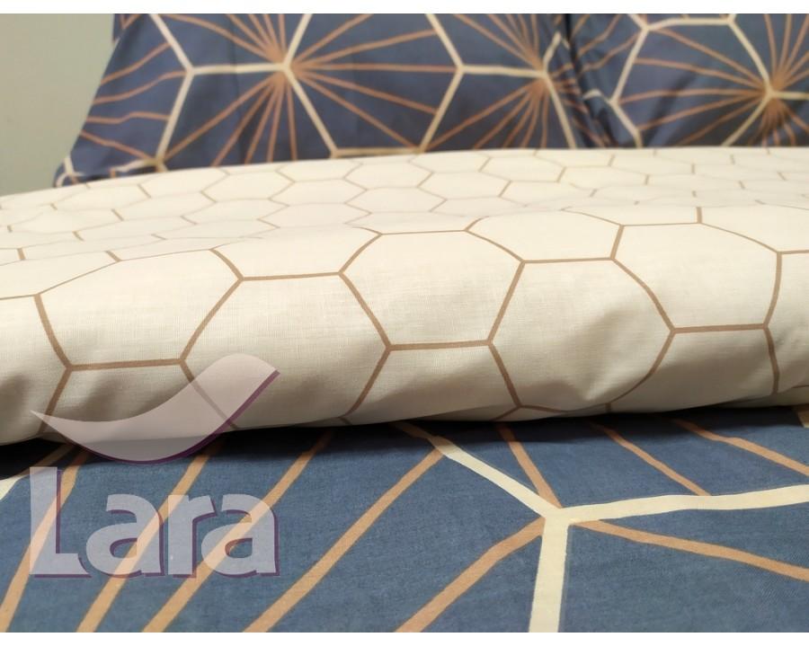 Постельное белье LARA бязь d11141p2 полуторное