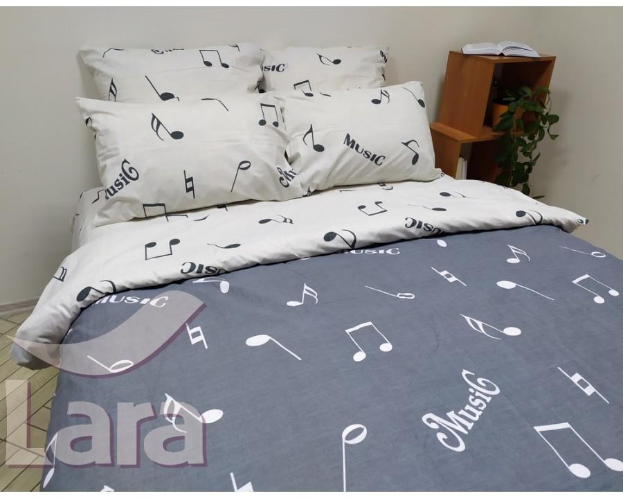 Постельное белье LARA бязь d11097e2 евро