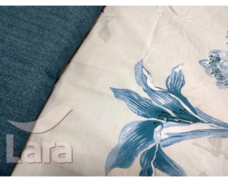 Постельное белье LARA бязь d11181p полуторное