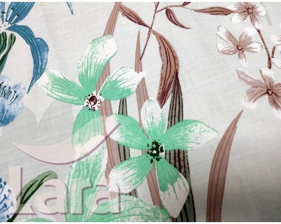 Постельное белье LARA бязь d11181e евро