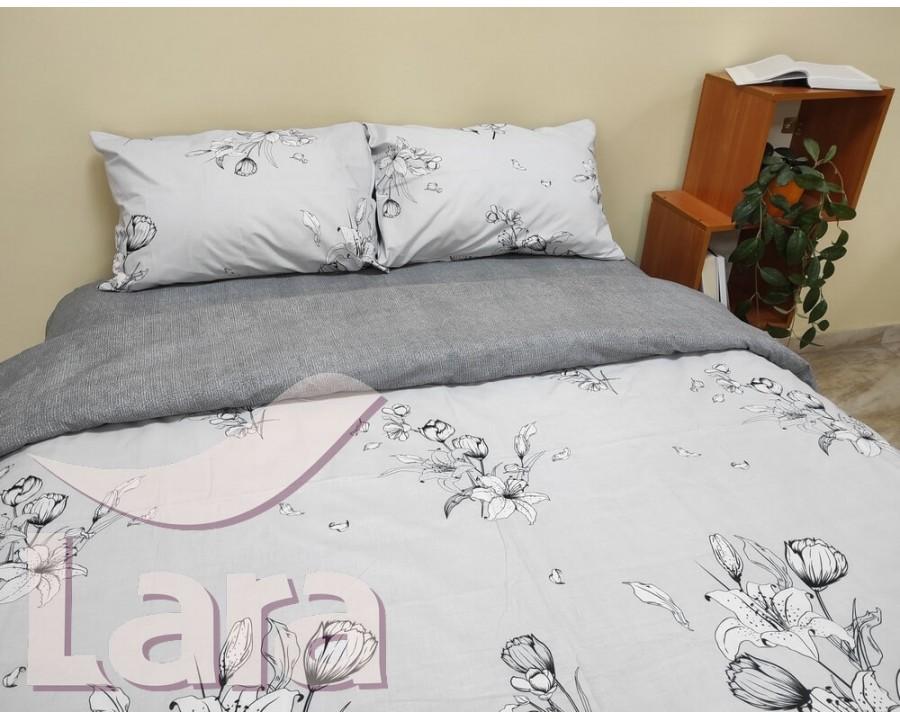 Постельное белье LARA бязь d11180d двуспальное