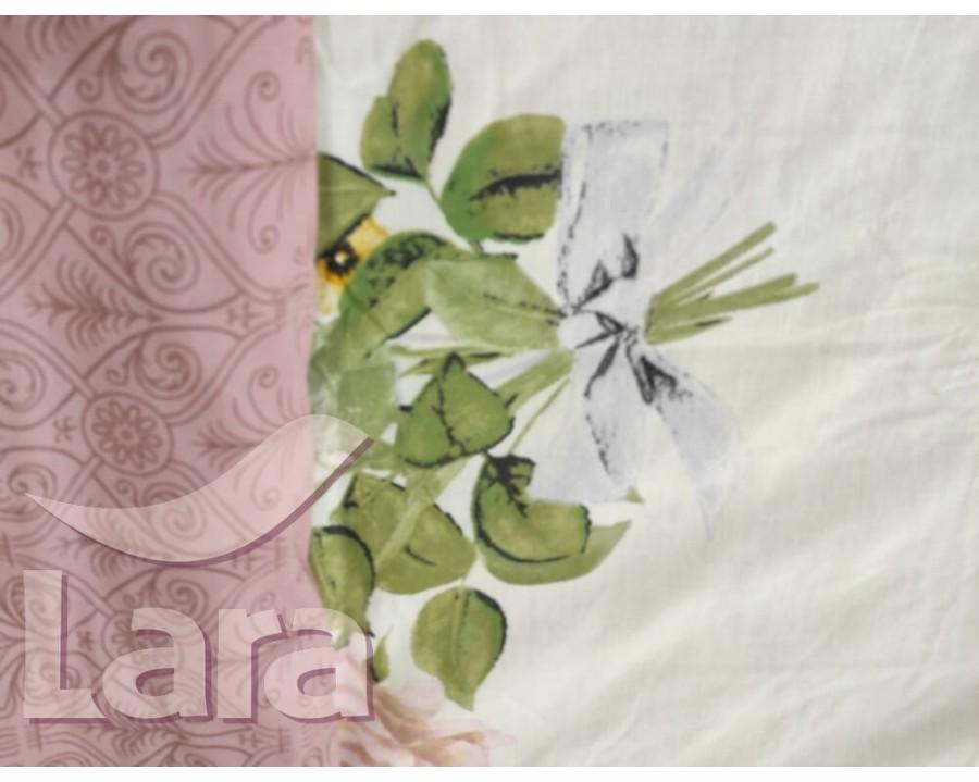 Постельное белье LARA бязь d11173s семейное