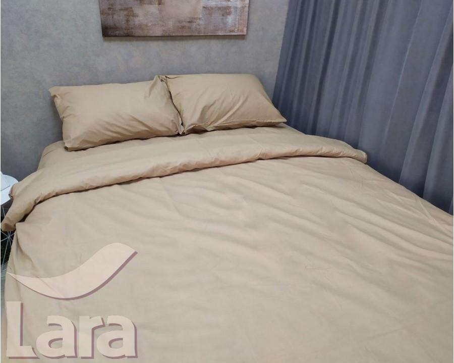 Постельное белье LARA бязь d11190s Coffee семейное