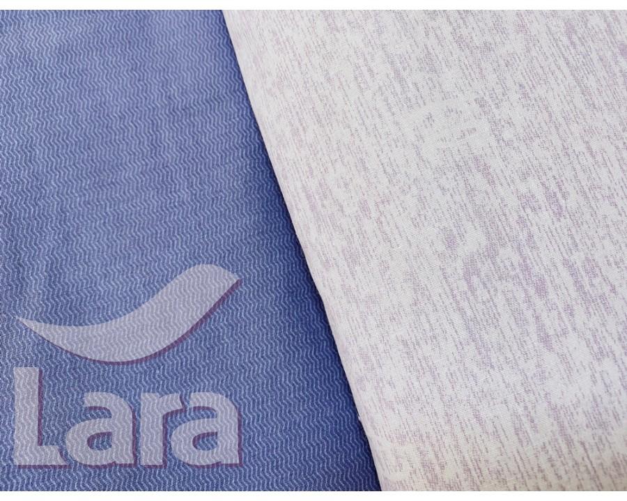 Постельное белье LARA бязь d11170p полуторное 2 наволочки в комплекте
