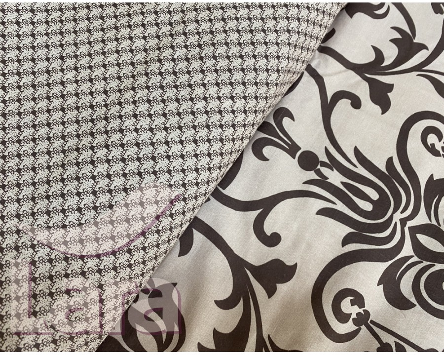 Постельное белье LARA бязь d11168p полуторное 2 наволочки в комплекте