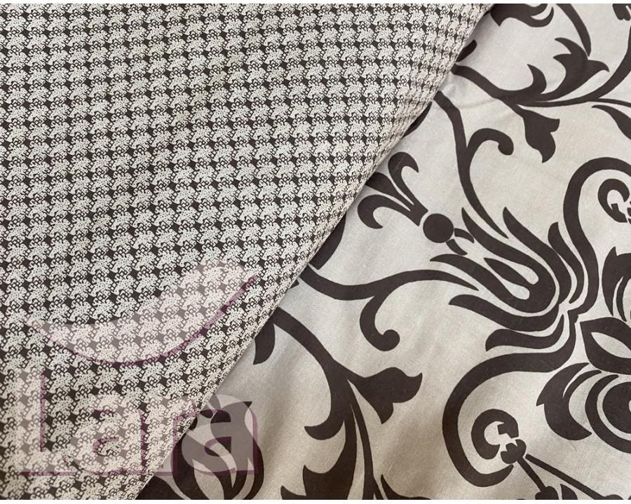 Постельное белье LARA бязь d11168e евро 4 наволочки в комплекте