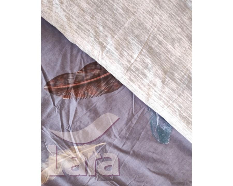 Постельное белье LARA бязь d11166d двуспальное 4 наволочки в комплекте