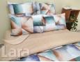 Постельное белье LARA бязь d11165d двуспальное 4 наволочки в комплекте