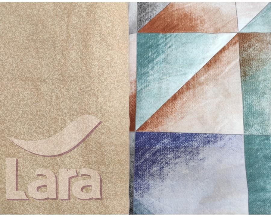 Постільна білизна LARA бязь d11165e євро 4 наволочки в комплекті