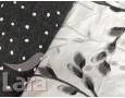 Постельное белье LARA бязь d11164e евро 4 наволочки в комплекте