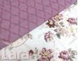 Постельное белье LARA бязь d11163s семейное 4 наволочки в комплекте