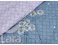 Постельное белье LARA бязь d11162d двуспальное 4 наволочки в комплекте