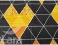 Постельное белье LARA бязь d11161p полуторное 2 наволочки в комплекте