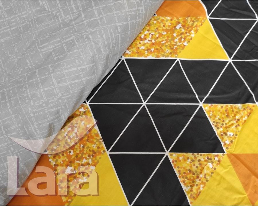 Постельное белье LARA бязь d11161d двуспальное 4 наволочки в комплекте