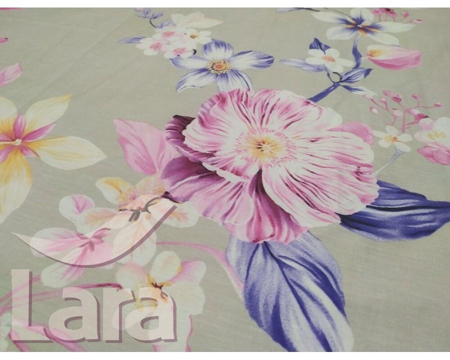 Постельное белье LARA сатин d13090e евро