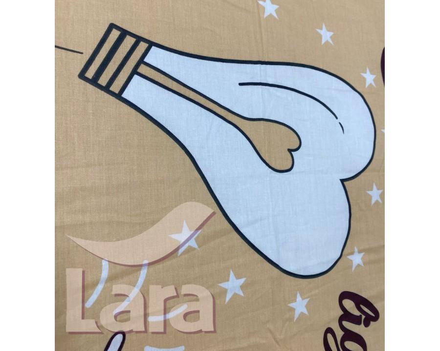 Постельное белье LARA сатин d13088e евро