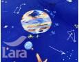 Постельное белье LARA сатин d13083p полуторное