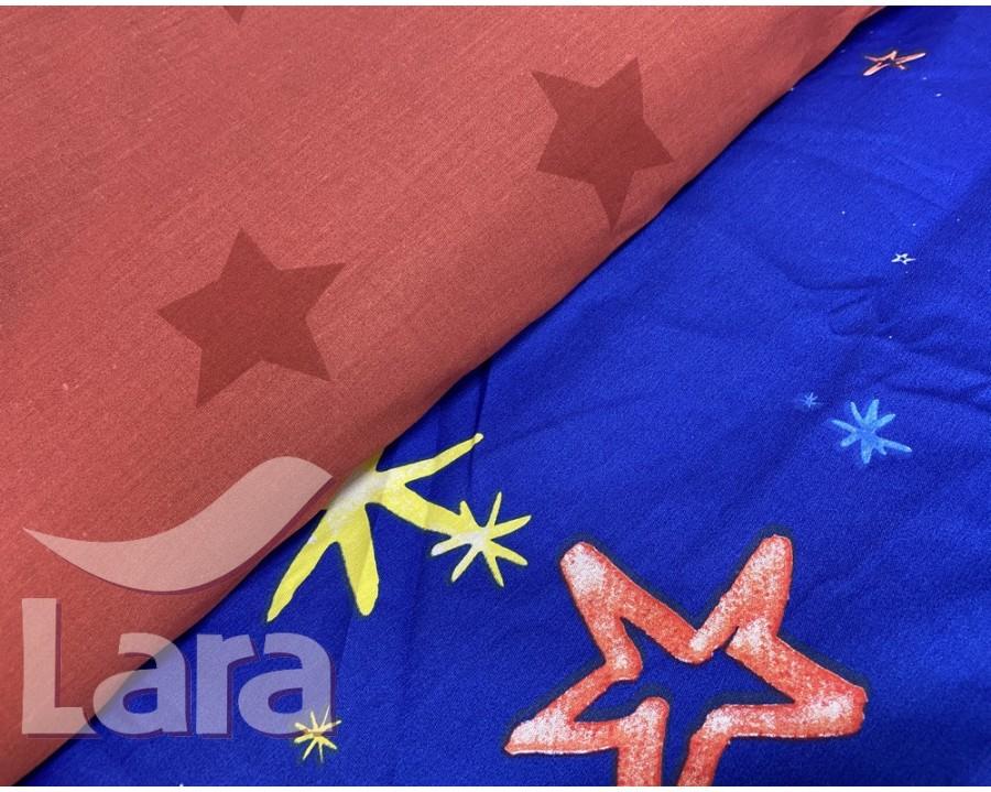 Постельное белье LARA сатин d13083e евро