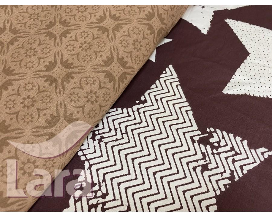 Постельное белье LARA сатин d13082e евро