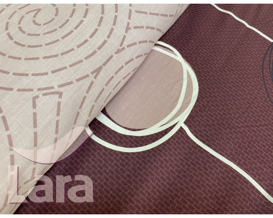 Постільна білизна LARA сатин d13077p полуторна