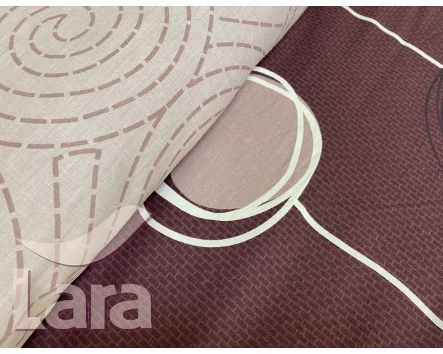 Постельное белье LARA сатин d13077e евро