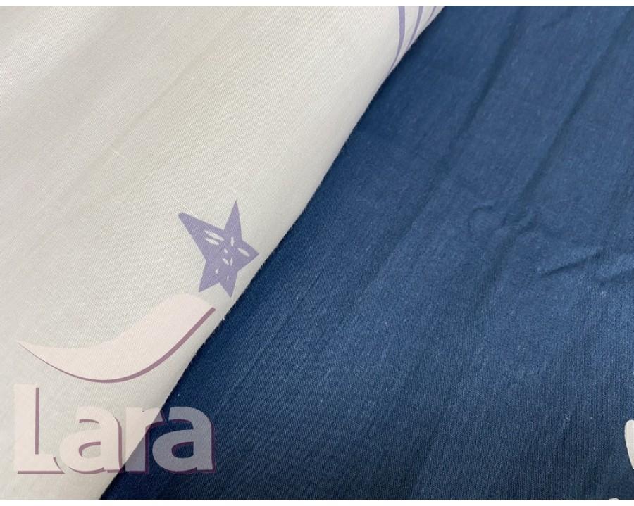 Постельное белье LARA сатин d13076d двуспальное