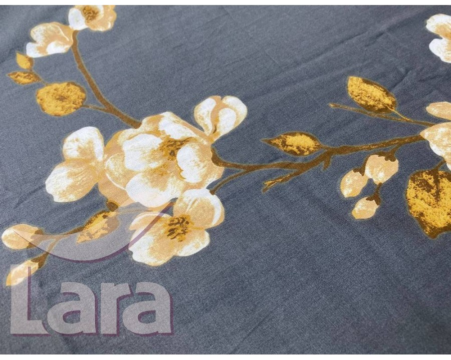 Постельное белье LARA сатин d13075d двуспальное
