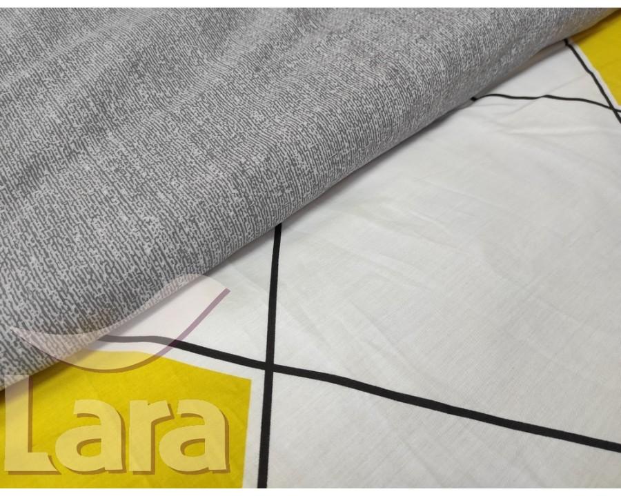 Постельное белье LARA сатин d13068d двуспальное