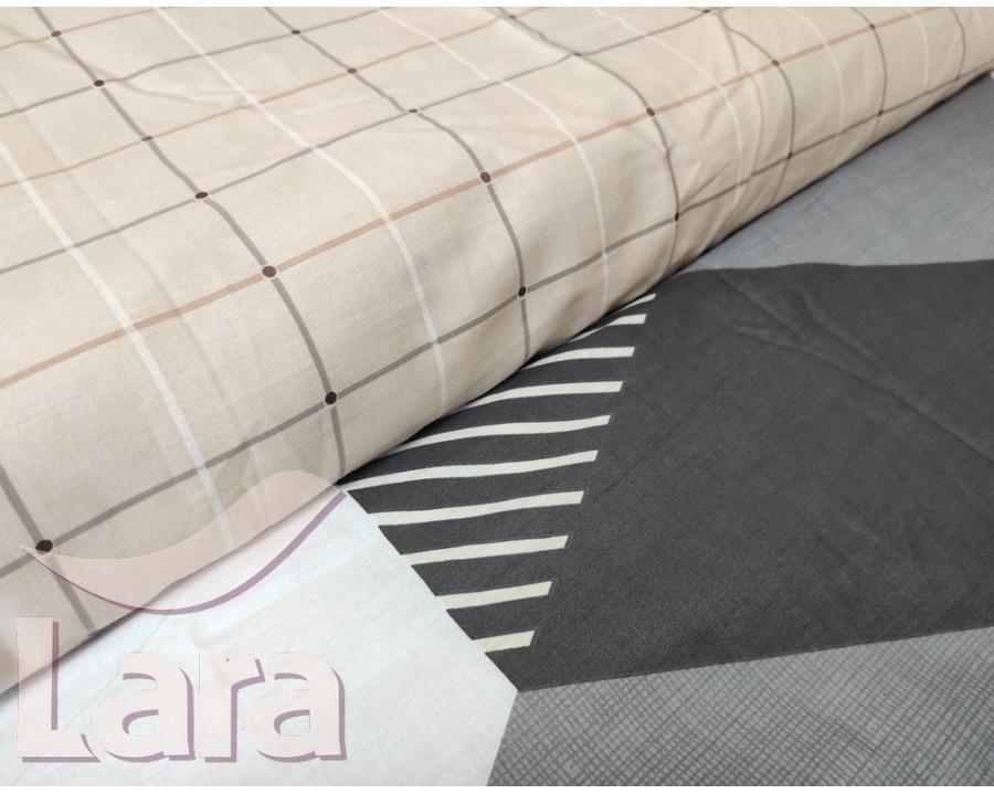 Постельное белье LARA сатин d13061e евро