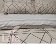 Постельное белье LARA сатин d13067p полуторное