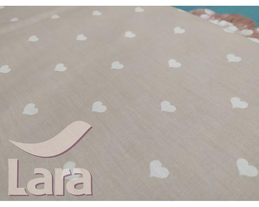 Постельное белье LARA сатин d13066p полуторное