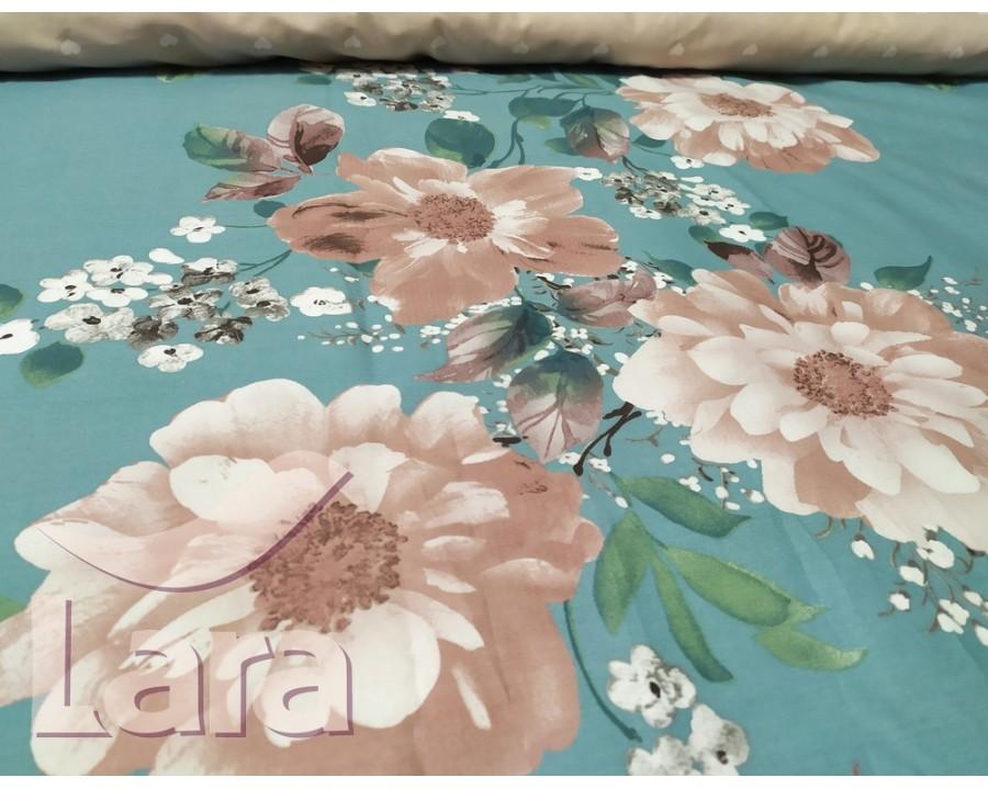 Постельное белье LARA сатин d13066e евро