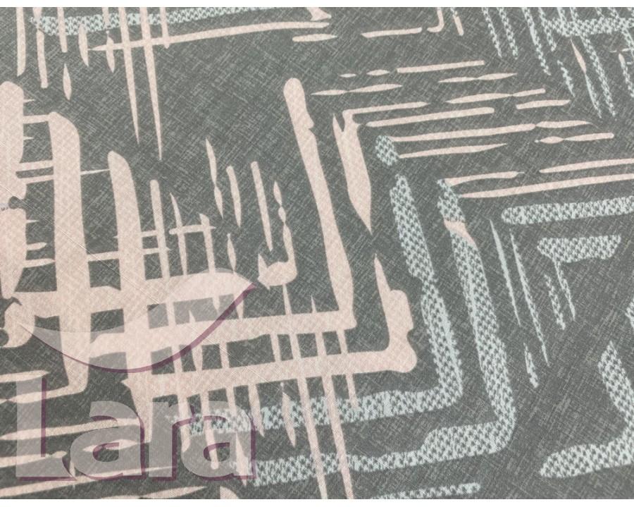 Постельное белье LARA ранфорс d12026p полуторное 2 наволочки в комплекте
