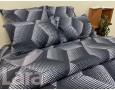 Постельное белье LARA ранфорс d12020p полуторное 2 наволочки в комплекте