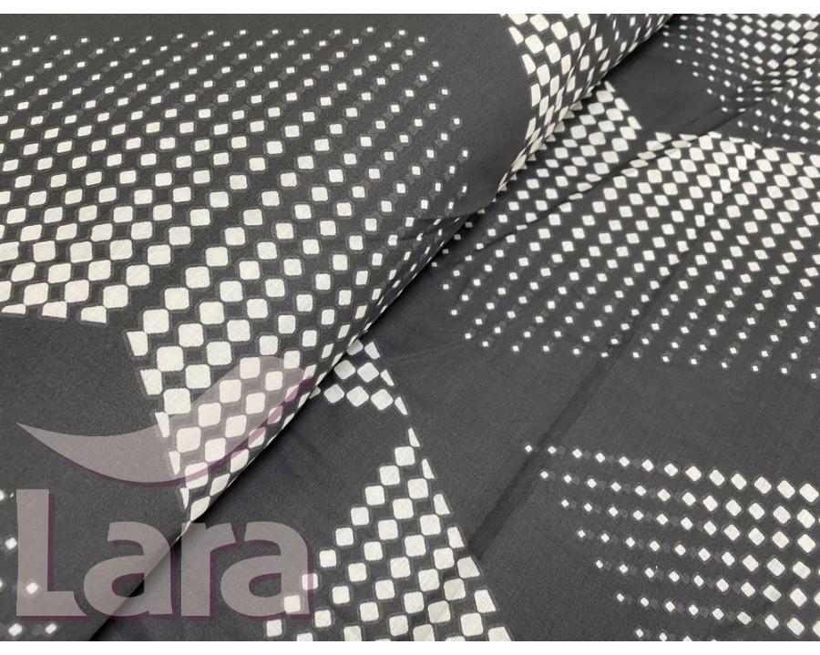 Постельное белье LARA ранфорс d12020d двуспальное 4 наволочки в комплекте